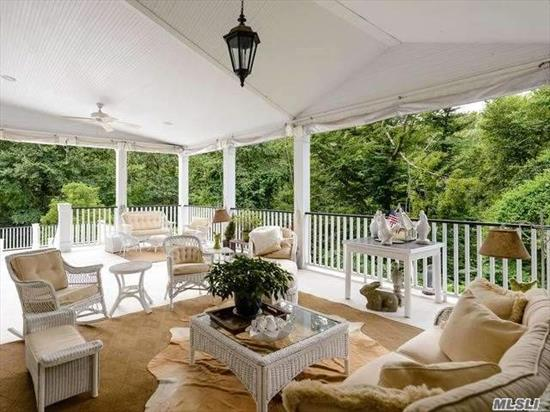 Nestled At The End Of A Quiet Country Rd Among Specimen Trees And Foliage This Completely Updated Colonial Is Almost Like Living In A Tree House. Fabulous Eat In Kitchen With A View Of The Protected Cushman Woods Preserve, New Mud Room With Radiant Heat, Beautifully Finished Family Room And Playroom In Basement And Large Covered Three Season Porch With Built In Speakers To Enjoy Almost Year Around Entertaining. Property Has Been Used For Commercials.