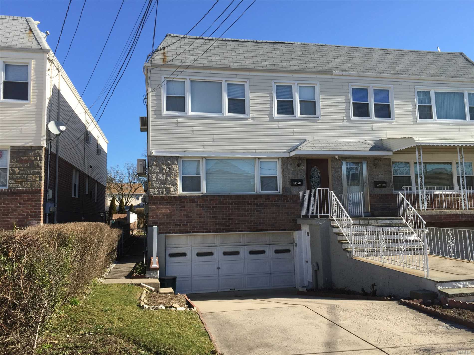 Prime Area In Whitestone, Sunny Semi Detached 2 Fam W. Extra Deep Property, 3Beds Over 2 Beds(Can Be Easily Converted Into 3 Beds) Plus Finished Front Walk In Basement, Building Size 22X51, Fully Renovated, Granite Countertop, Stainless Steel Stove/Ref, New Garage Opener, Newer Hot Water Heater, 3Yrs Old Roof, 4-Split Ac-2017, Attached 2 Car Garage Plus Long Driveway, Q15/Q15A/Q76/Qm2/Qm32, Walk To Shopping Mall, School Dist. 26:Ps79, Jhs194, Deliver Vacant