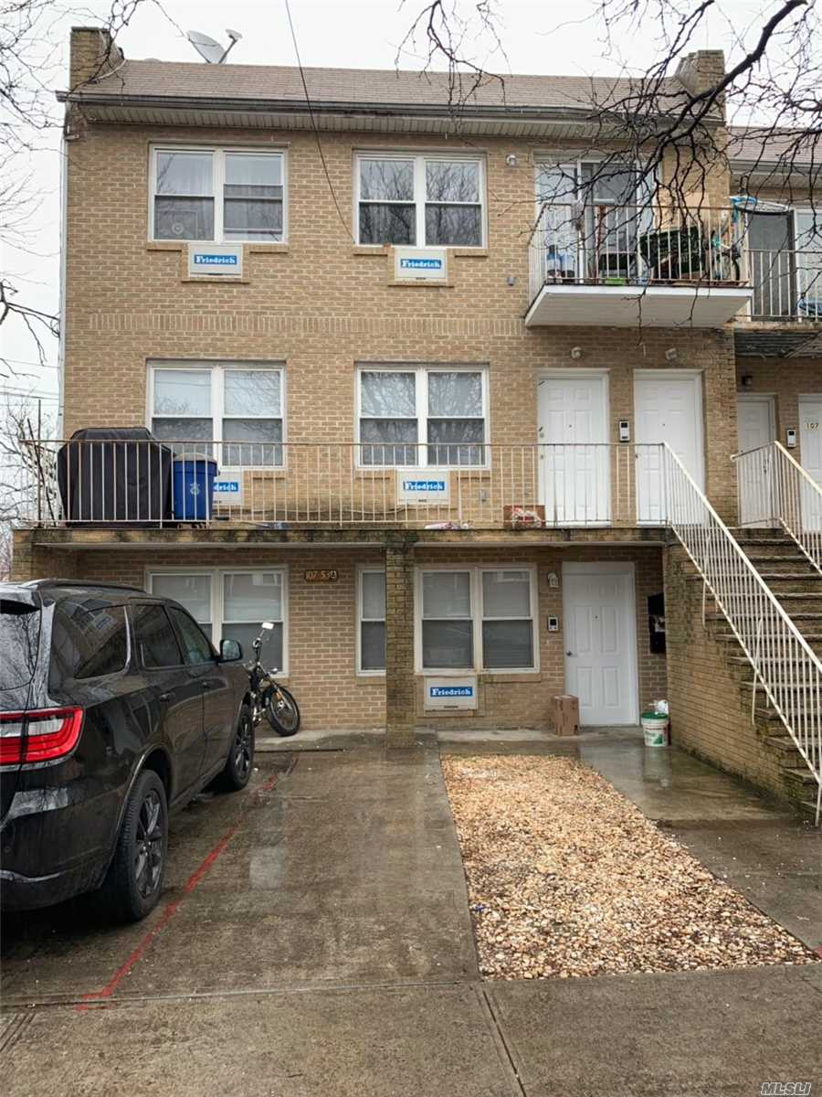 Younger Semi-Attached 3 Family Brick House Located Walking Distance To Subway Station Closed To Conduit Ave. Each Family Is 3 Bedrooms 1 Bathroom With Independent Entrance. 3 Boilers And 3 Heaters. The Property Tax Is Lower And Still Left 2 Years Tax Abate. Good For Investment. Walk To Q7 Bus And Subway Station.