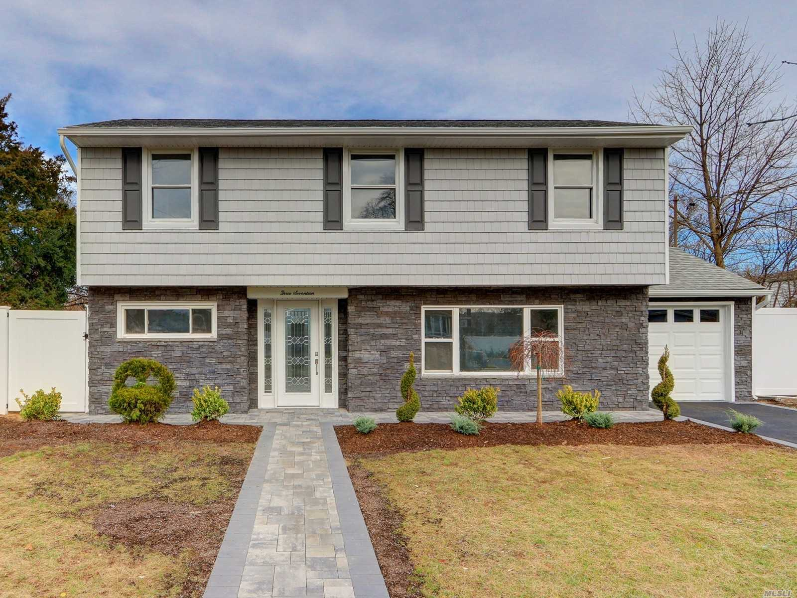 Dream Home In Plainedge School District, Redone To Perfection. Gorgeous Kitchen Featuring All New Appliances, Cabinets And Countertops. Refinished Floors, Updated Bathrooms, Split Ac Systems All Make This A Great Package On An Oversized Lot.