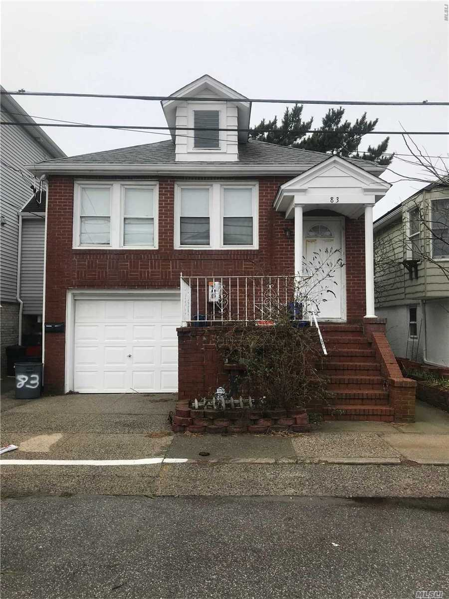 Gorgeous East Atlantic Beach Apartment. Fully Updated Interior With Open Layout Throughout. Enjoy Spacious Living-Room, Updated Chef's Kitchen With Island. 3 Bedrooms, 1 Full Bathroom. Washer & Dryer. Front Porch, Private Beach Rights, Use Of Driveway