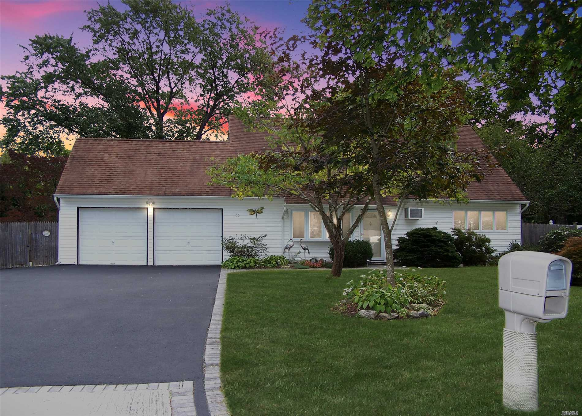Welcome To Your New Home. This 4/5 Bedroom Expanded Cape Located In The Tanglewood Hills Section Of Coram Is Perfect For Any 1st Time Buyers Or Any Growing Family. Upgrades Inc: Newer Kitchen W/ Corian Counter Topps, Wood Cabinets, & Custom Back Splash. Semi-Open Floor Plan With Cathedral Ceilings And Balcony View From The Upper Level. Windows, Siding, Roof & Electric All Less Than 10 Years Old. Purchase This Home With A Piece Of Mind. Pool, Hot Tub, & Shed Staying As A Gift.