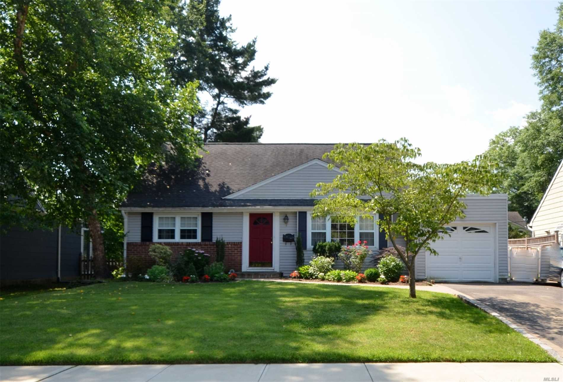 Move Right In To This 4 Bedroom Cape Cod With Great Living Space!! Formal Living Rm, Lg Eik, Fdr W/Skylights, Family Rm/Wood Burning Fireplace, 2 Full Baths. 2nd Floor; 2 Bdrms. Full Part Finished Basement W/Laundry & Mechanicals. Great Yard With Deck. Close To All. Must See!
