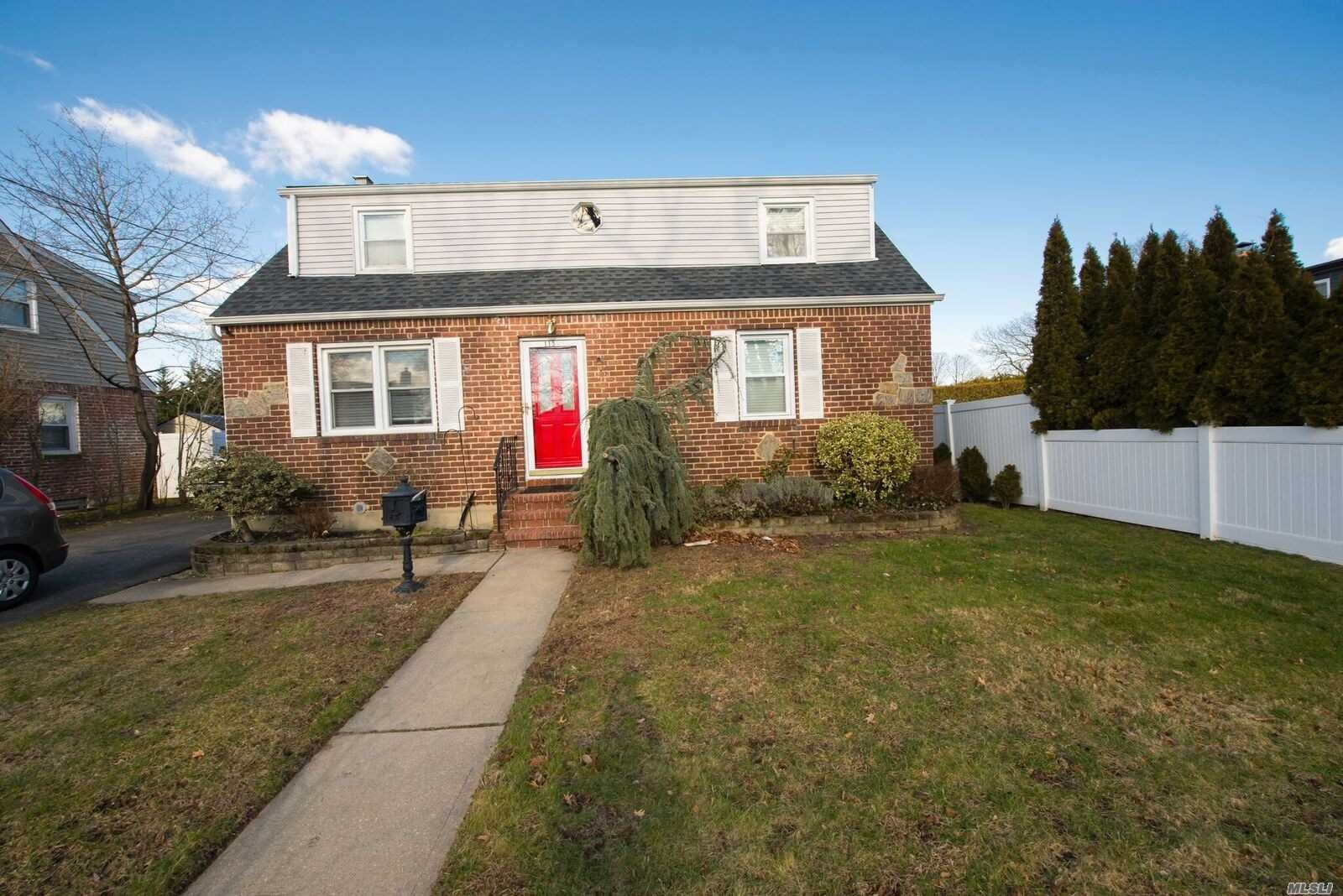 Dormered Home 8 Short Blocks From Lirr! Gas Heating And Cooking, New Kitchen And Bath W/Radiant, Security Cameras, Roof Approx 7 Yrs 1 Layer, Generator, Instant Hot Water, Garb Disp, 200 Amps, New Front And Back Doors, New Sewer Line, Mostly New Storm Windows, Extra Wide Garage