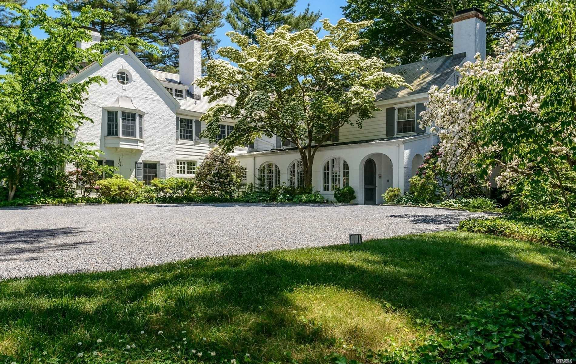 One-Of-A-Kind Magnificent 8650 Sqft Restored Gold Coast Estate Set On One Of The Finest Properties In Old Westbury. The 5.59 Glorious Acres In Jericho Sd Offer Captivating Vistas. Also Available For Rent-$4000: A 2-Story 3000Sqft Bldg That Holds A Sports Complex/Entertainment Center That Contains An Incredible Indoor Basketball Court/Den/Gym/Gourmet Kitchen.Pool & Cabana.