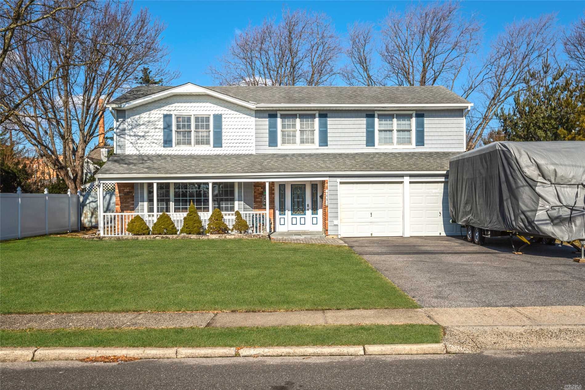 Expansive Colonial South Of Montauk With Many Updates! New Floors, Kitchen Countertops, Central Air, On Demand Boiler, Bathroom & More! This Colonial Boasts 6 Bedrooms, 2.5 Baths, Master Ensuite, Oversized Living Room, Den With Fireplace, 3 Season Room, 2 Car Garage & Much, Much More! No Flood Insurance Required