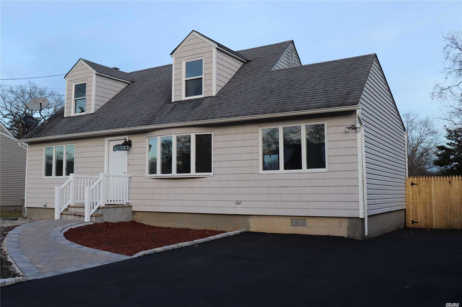 Lovely Updated Cape With Top Quality Finishes. Great Location! This Home Features 4 Bedrooms 2 Baths. Open Floor Plan. New Kitchen W/Granite And Samsung Stainless Steel Appliances. Hardwood Floors Throughout The House. Formal Living Room. Formal Dining Room W/ Sliding Glass Doors Leading To Large Deck, Pool & Fully Fenced In Backyard. New Water Heater. Cac, 200Amp Electric And Much More.
