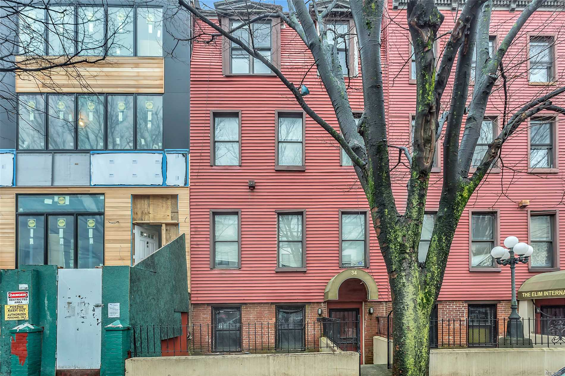 Great Opportunity To Renovate 4 Story Property In Desirable Bed-Stuy Bordering Prestigious Clinton Hill. Picturesque Block Surrounded By Newly Developed Homes. Renovation Started Now Awaits You To Bring To Completion. Potential Two Family (2 Bed/2 Bath Garden Level Unit And 5 Bed/4 Bath Triplex Unit). Perfect For Investors, Developers Or Buyers Looking To Execute Their Own Vision. Bring Your Architect, Your Contractor, And Your Imagination To Create Your Dream Home! Minutes Away From Manhattan.
