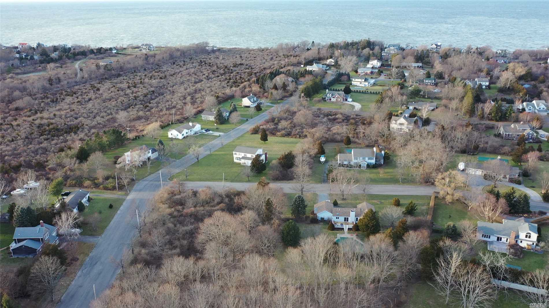 Highly Desirable, Builder's Acre, Corner Parcel In Sought After Orient-By-The-Sea Community. One Of Only A Few Prime Parcels Left! Short Distance To Orient Point State Park, Marina, Ferry And More! Private Association Beach And Recreation Area Where You May Enjoy The Beauty And Tranquility Of Long Island Sound. An Ideal Location To Build Your Dream North Fork Home! Won't Last!
