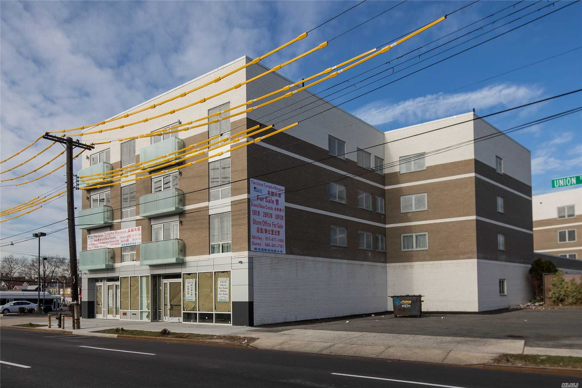Brand New Luxury Condo Building Located On The Corner Of Union Turnpike & Parson. Close To All; Public Transport, Shopping Centers, Supermarkets.