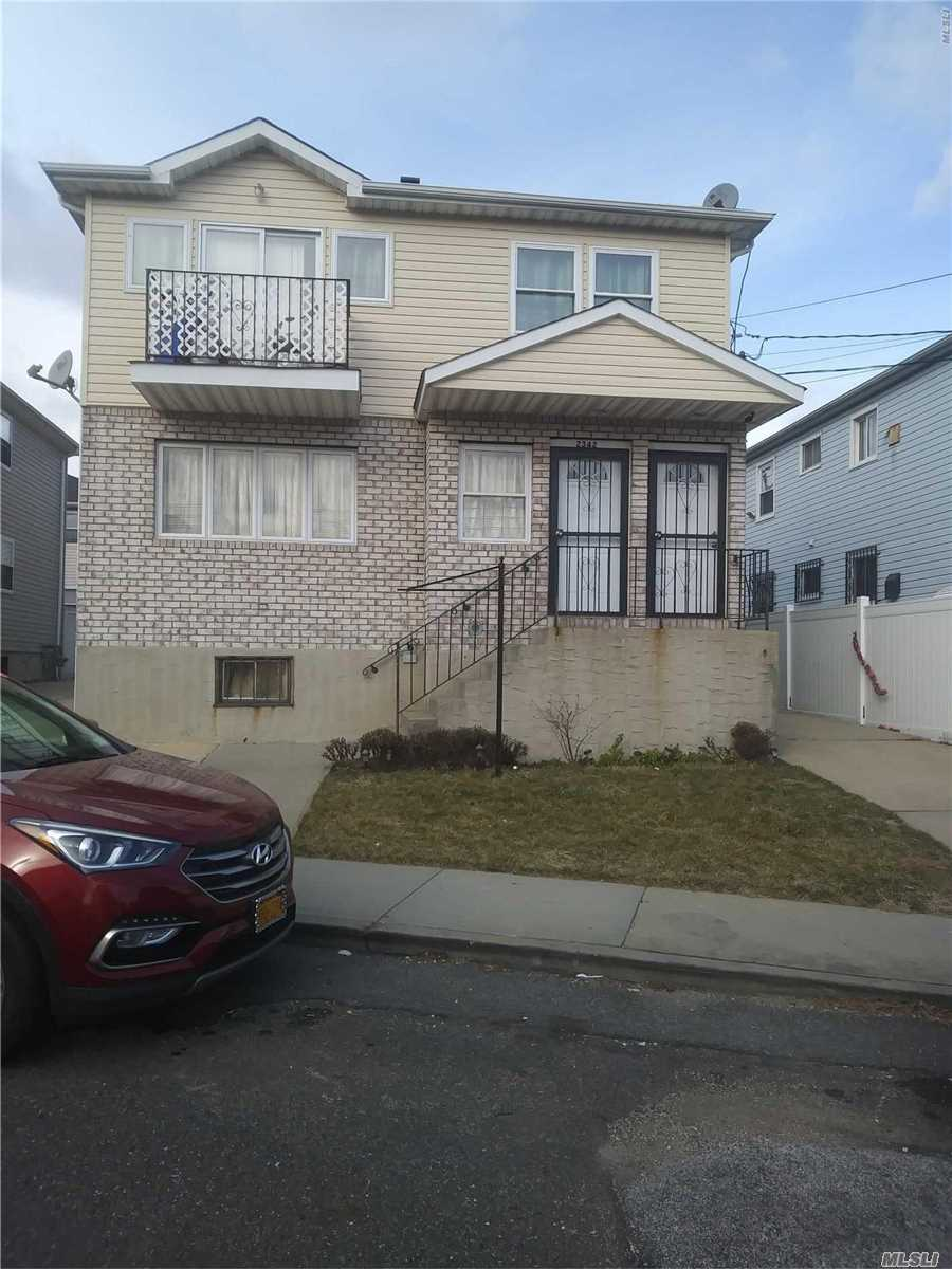 Beautiful 2 Family,  6 Bedroom,  5 Bath Home. Well Maintained.