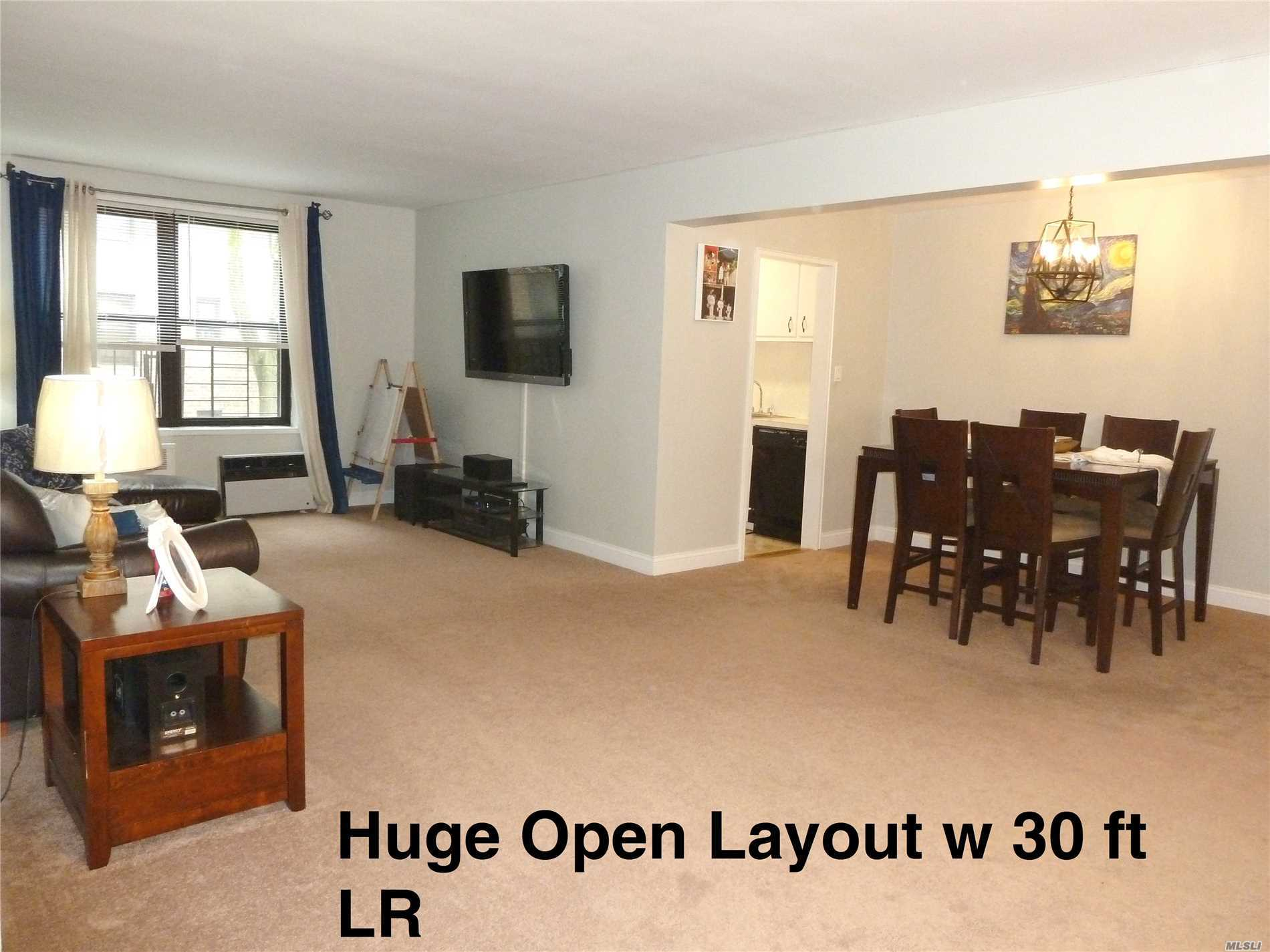House Size 2Br In Beautiful Community W/Pool, Free Prkng, Ez Commute, Sd26, Ps188 & New, 24 Hour Laundry. Huge, 30Ft Lr, Kingsize Mbr, Queensize Br2. Tons Of Big Closets, Free Storage Rms. Wood Flrs Under New Carpet Thru-Out! New Appliances, 3 New Ac's, New Molding & Paint. Xbus & Ltd Q46(Very Fast Ride To E&F Trains) Steps Away. Elegant And Immaculate Community In Sd26. Open Flow, Can Convert To 3rd Br. New Gas Heat, Appx 1200 Sq Ft. Walk To Shops, House Of Worship, Alley Park. Ez Board, Live In Super