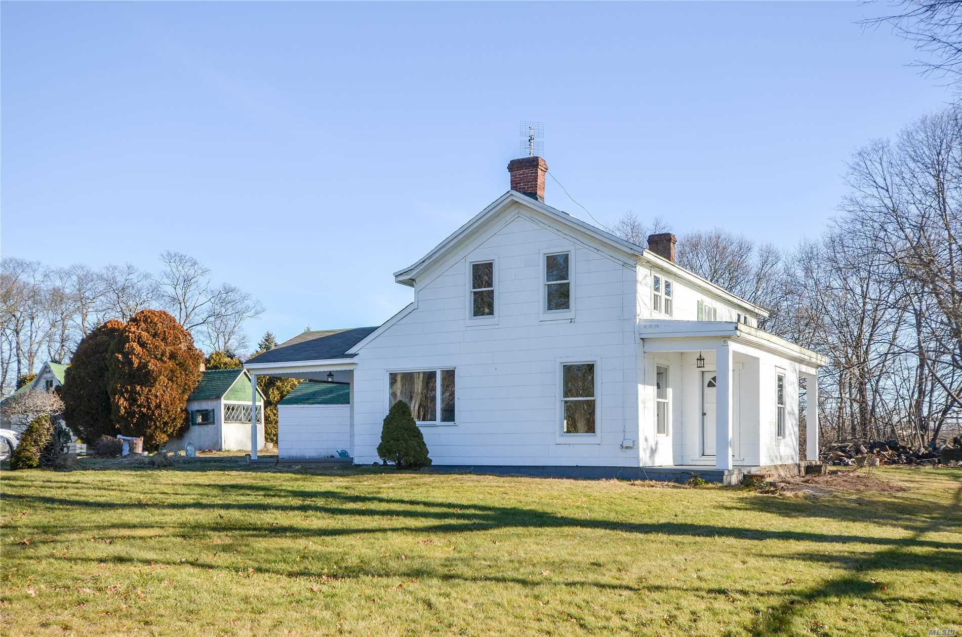 If Small Town, Fresh Air, And Plenty Of Green, Open Spaces Sound Like The Perfect Place, Then This One Is For You! This Farmhouse Offers A Balance Between Rustic And Chic; Remodeled Bathroom, Updated Kitchen, New Windows, Fresh Paint All While Holding On To Many Of The Original Charming Details. Freshly Refinished Original Wide Plank Floors Round Out The Great Condition Of This Home. Farm Views Just About Everywhere You Look!