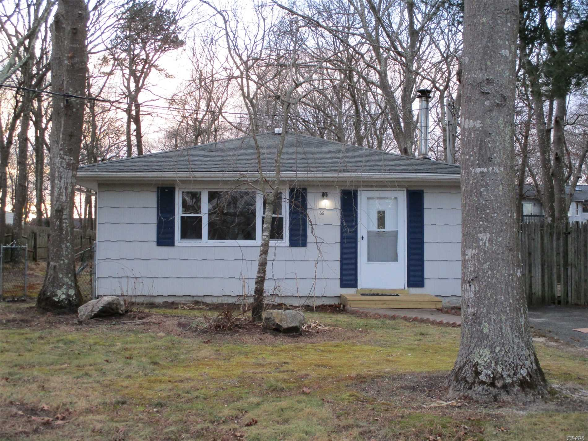 Nice 3 Br Ranch On Large Lot. Tiled Entry Hall, Lr/Dr, Carpet, Eik, 3 Spacious Brs, Lg. Full Bath, Wood Deck Off Side Entry, Quiet Neighborhood, Close To Schools, Shopping, Lirr, Smithpoint Beaches.