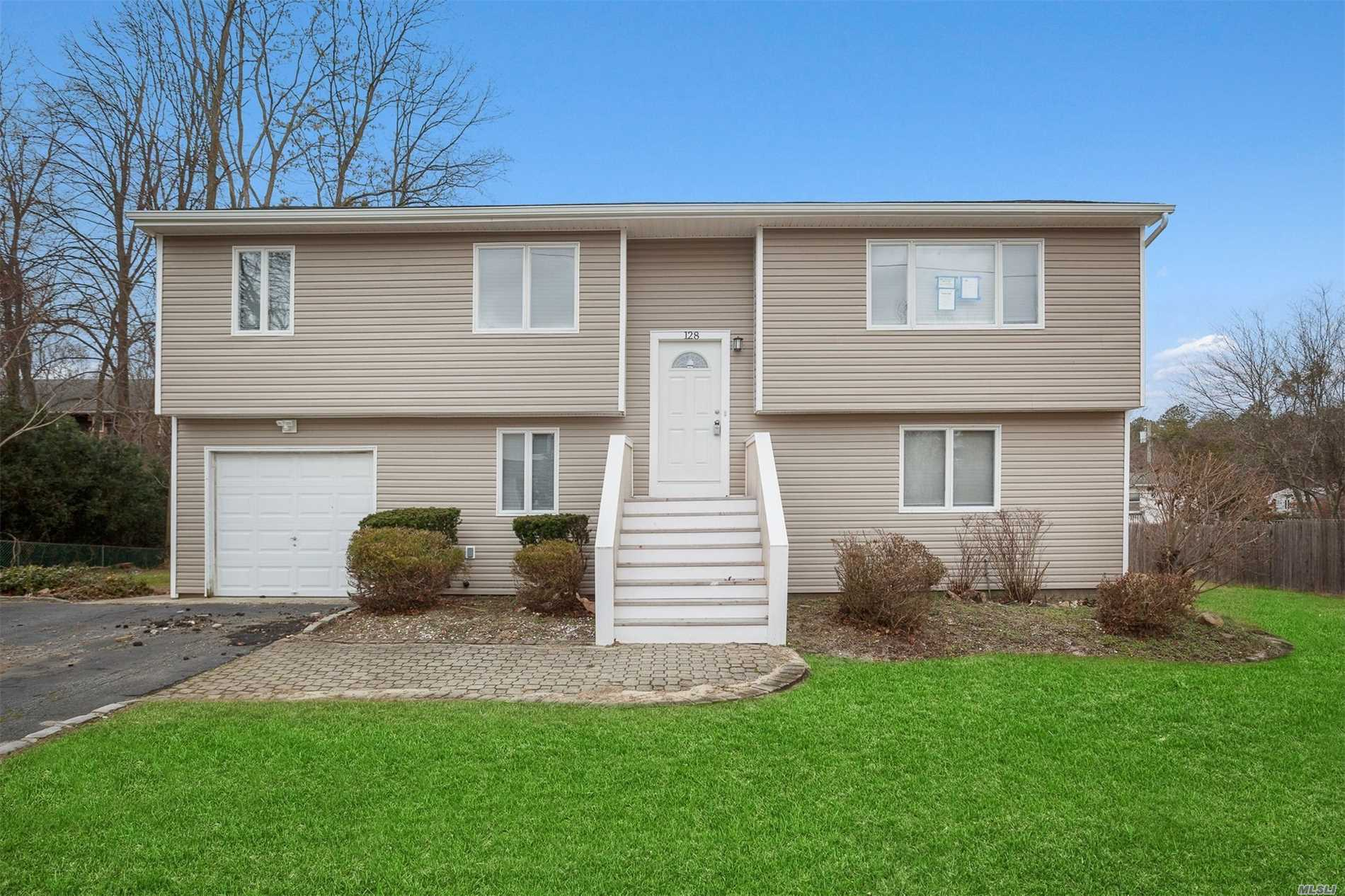 Large & Lovely High-Ranch Ready To Move Right In! Nicely Updated W/ Ss Appliances, New Carpets & More! Clean As A Whistle Garage & Large Property W/ Room For Growth! Unique Bi-Level Rear Deck To Enjoy The Great Outdoors! Don't Let This Deal Pass You By!
