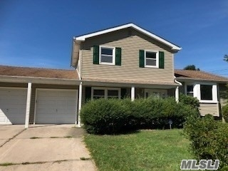 Detached Colonial With An Attached 2 Car Garage And A Private Inground Pool With A Full/Unfinished Basement Located In The Wyandanch/Wheatley Heights Section Of Suffolk County. House Has Been Completely Updated. The First Floor Consists Of A Living Room/Dining Room Combination, Family Room/Den, Kitchen, 1 Bedroom, And 1 Half Bathroom. The Second Floor Consists Of 3 Bedrooms And 1 Full Bathroom.