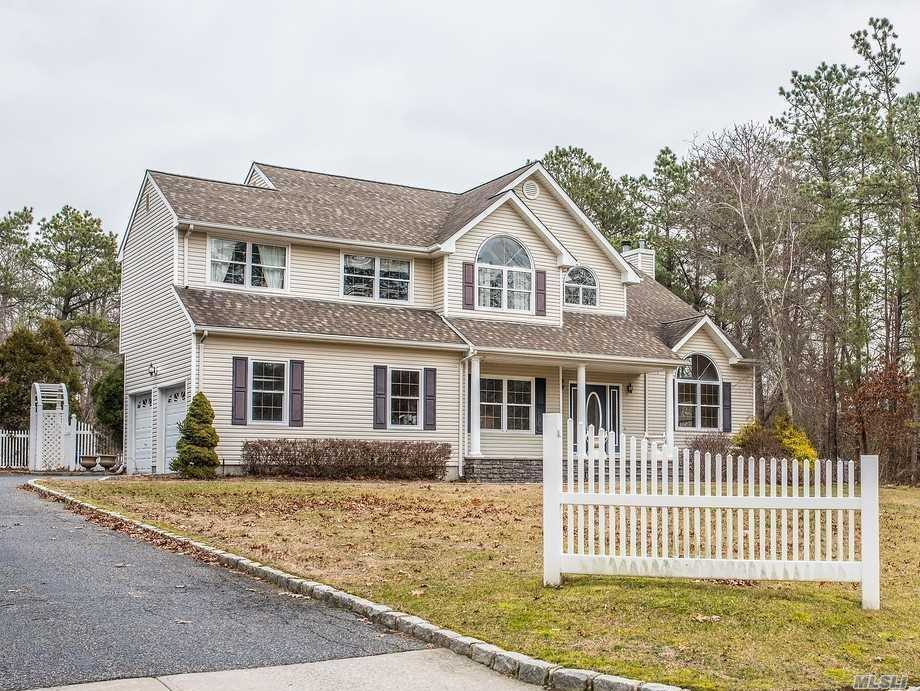 This Beautiful Home In Desirable Pinewood Estates Features: Eik W/Granite Ctr Tops, Jenn Air Stainless Steel Appliances & Center Island, Family Rm W/Fireplace, Hardwood Floors Throughout First Floor, Custom Crown Molding, Bright & Airy Open Floor Plan, 5 Br's 2.5 Baths Including A Spacious Master Suite W/Walk In Closet & Full Bth, Full Finished Basement & 2 Car Garage. Resort Like Acre+ Backyard W/Patio, Igs & In Ground Pool. Call Today!!!