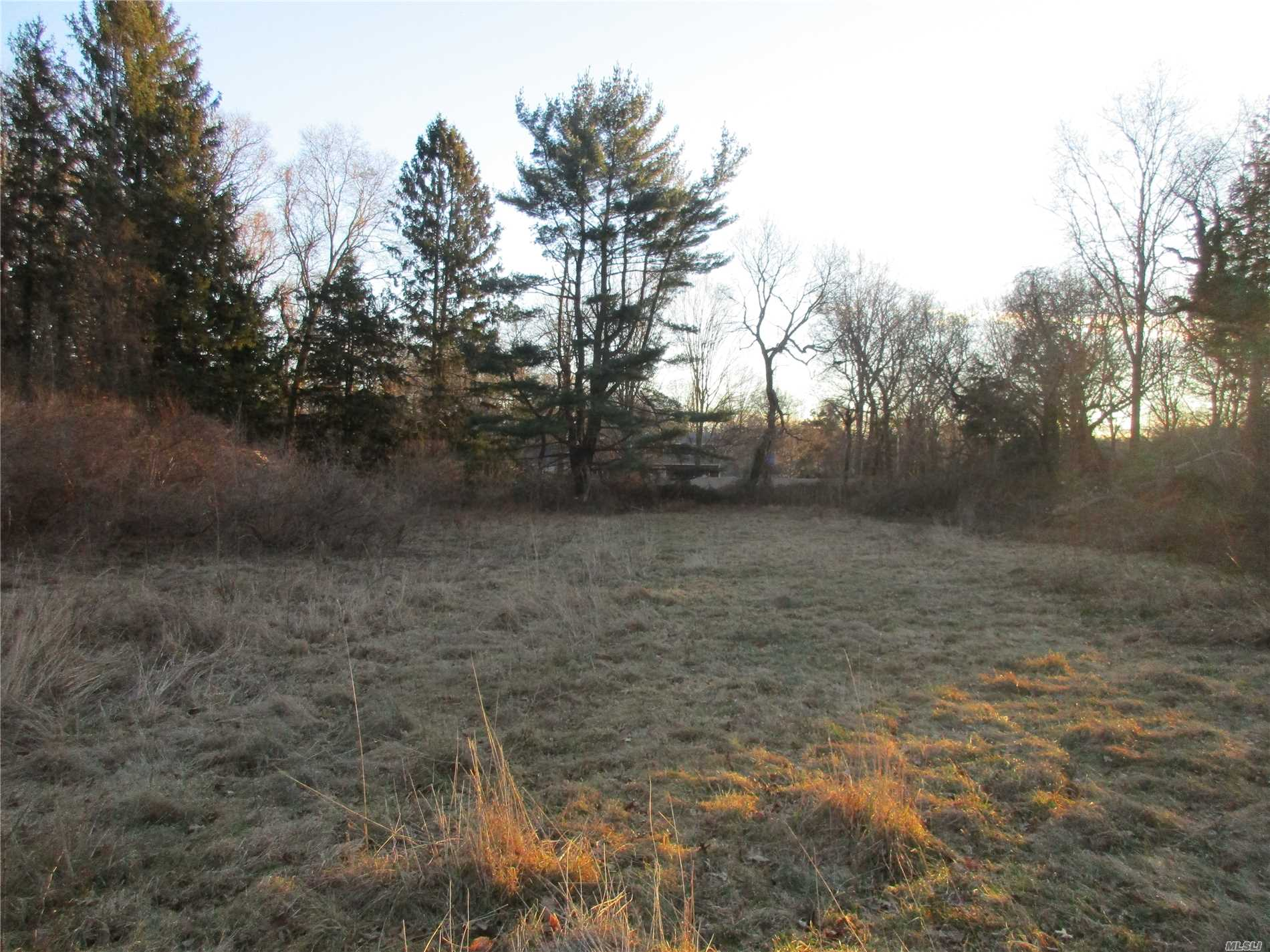 Part Of Sub Division! See Survey,  2.3 Acres Flat And Cleared. Build Your Dream Home In Harborfields Sd #6.