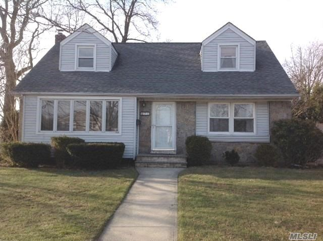 Welcome To This Beautiful Brick, Expanded & Rear Dormered, Wide-Line Cape In Desirable Plainview-Old Bethpage Sd. This Home Features Livingroom W/Pella Window, Formal Diningroom, Granite Kitchen W/Ss Appliances, Fam.Rm W/Access To Yard & Garage, Updated Full Bath, Master Br & Addl Br, Wood Flrs. 2nd Flr. Features 2 Bedrooms, Full Bath; Full Basement W/Ose, Full Bath, Utility Rm W/W&D, Boiler.; New Asphalt Driveway & Walkway; Attached Garage; Private Yard.