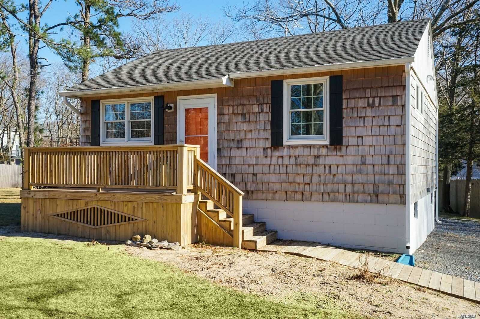 Light & Bright Completely Gut Renovated Ranch On Gorgeous Level .34 Acre Property In Lake Panamoka Private Lake Community With 3 Beaches & Community Clubhouse (Dues Apply)...All New Sheetrock, New Andersen Windows, Plumbing, Electric, New Kitchen With Oak Cabinetry & Andersen French Door, Renovated Bathroom, New Cedar Siding, Architectural Roof, Cac, Full Basement With Inside Entrance, New 16X24 Deck & 6X12 Front Porch, 10X16 Shed, 2 Driveways (1 Circular)Large Attic, Gas Propane Heating..Mint + Condition!