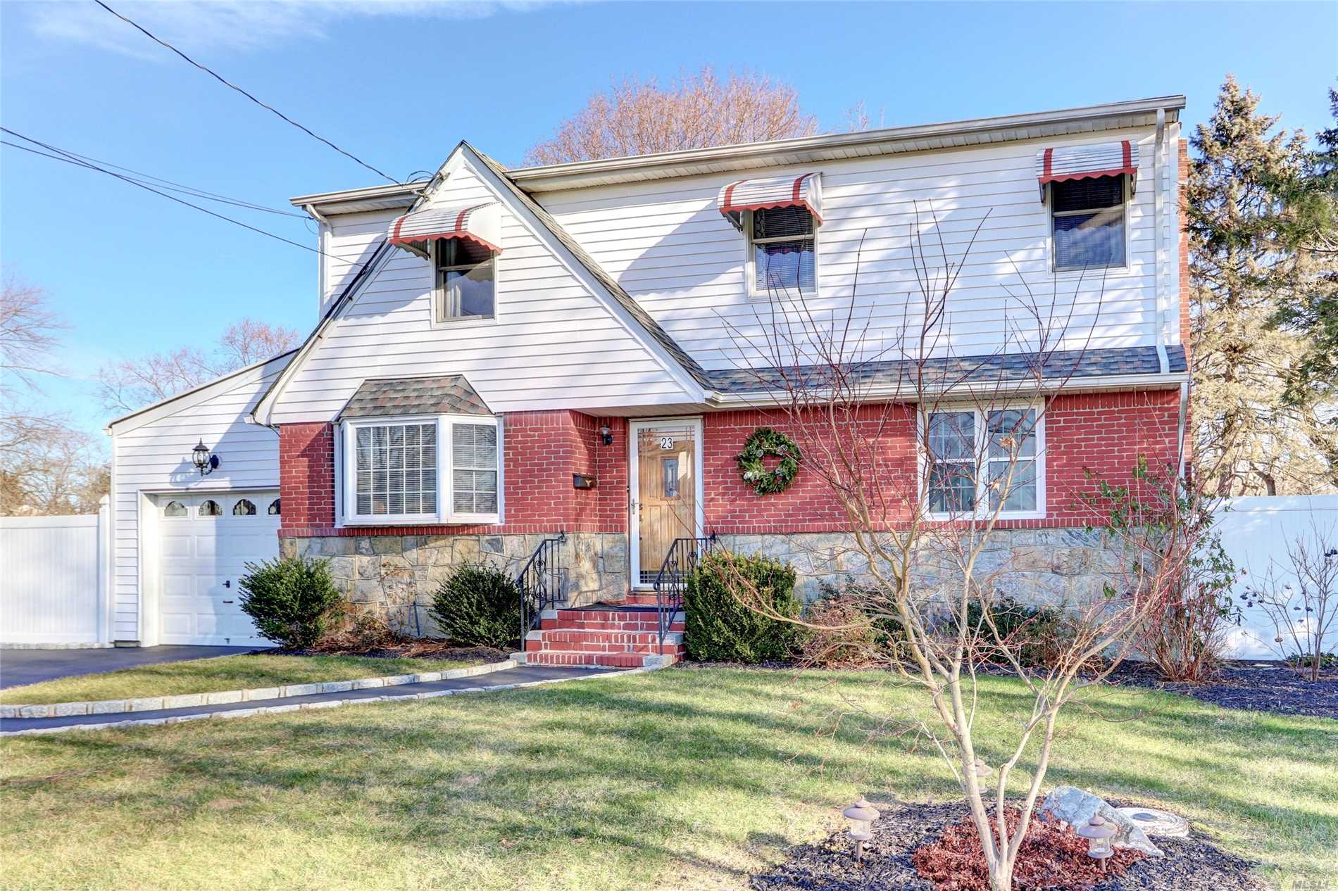 Wonderful Expanded Home In Award Winning Harborfields Sd!! Large Rooms Throughout. 3 Master-Size Bedrooms With Great Closet Space! Many Updates. Huge Basement. Flexible Layout, Can Be Made Into 4/5 Br Home If Needed. Beautiful Fenced In Flat Yard! Don't Miss This Spacious Home In A Special Neighborhood!!