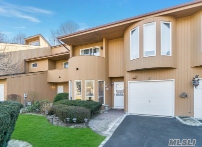 Sale May Be Subject To Term & Conditions Of An Offering Plan. Mint Condo Overlooking Pond/Lovely Gated Community/Vaulted Ceilings/Updated Eik/Dark Wood Floors/Desirable Gas Heat/Extra Long Driveway/Garage Converted To Tv Room/ Top Hauppauge Schools