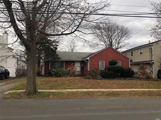Check Out This Ranch Located In The Desirable Twin Oaks Section Of Babylon Village With Village Amenities In West Babylon School District -Featuring 3 Bedrooms, A Full Bath, Liv Rm, Eat In Kitchen, Unfinished Basement & Detached Garage -This Property Needs Some Tlc But Is All Ready To Make Your Own!! -