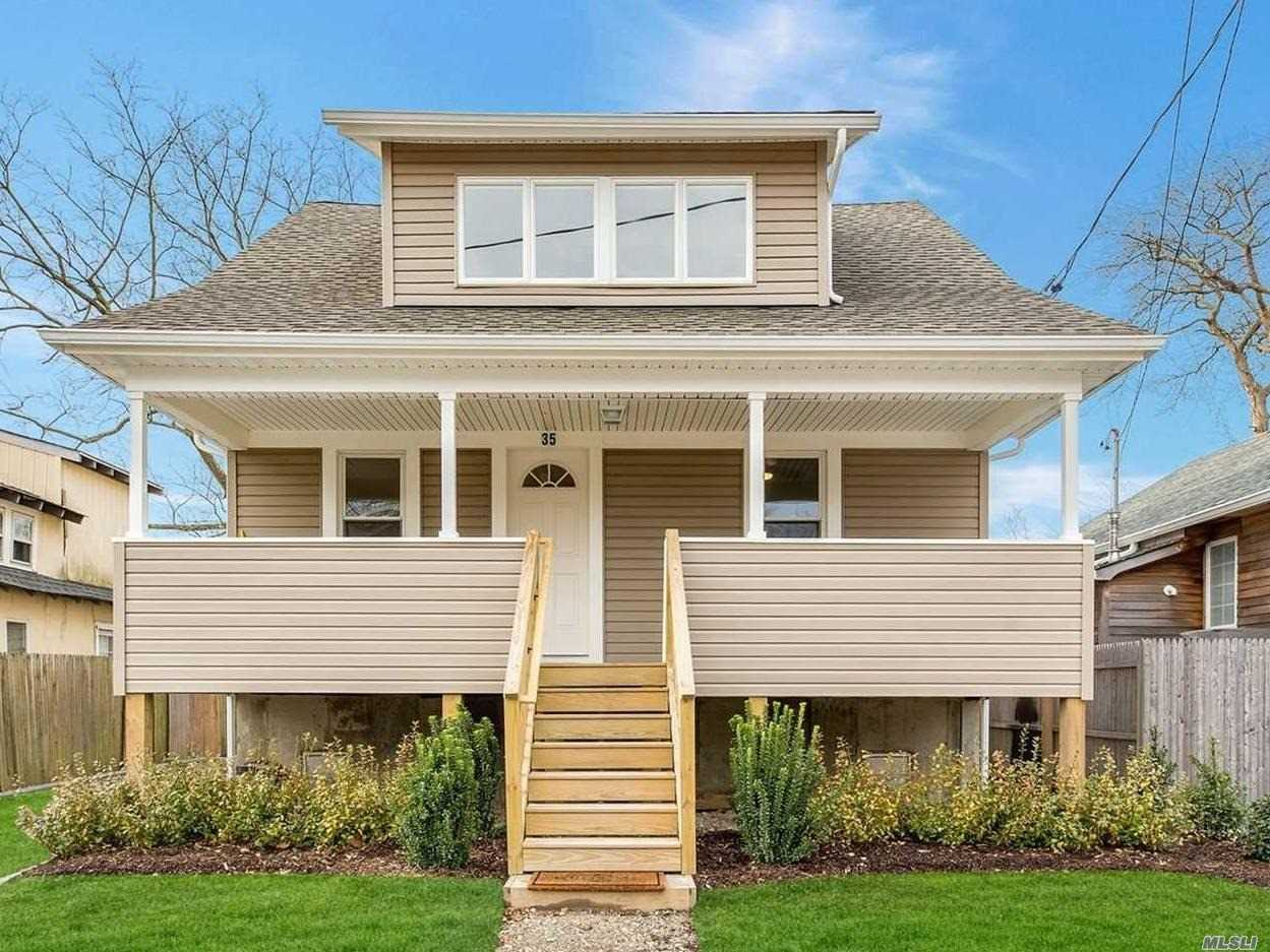 Beautifully Renovated, This Home Was Lifted And Redone In 2018 (Original Build 1935). Quiet Street, Spacious Front Porch, Hw Floors, New Kitchen And Baths! Flood Insurance Under $500/Year And Transferrable. Enjoy Deeded Beach Rights For Beach At End Of Clearview, W/Private Assoc. Fees Approx. $100/Year! Natural Gas To House From Street Provides Gas Cooking! Plumbing In The Walls Of Upper Great Room If Needed. Upper Has 2 Individual Units For Cac/Heat.