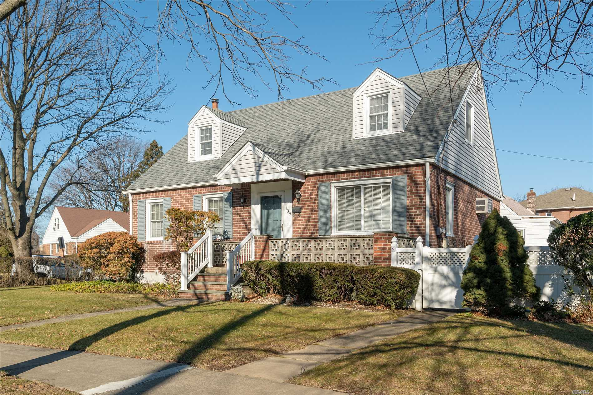 4 Bedrooms, 2 Baths, Brick Wide Line Cape,  New Kitchen, Herrick School District, Great Big Back Yard, Finished Basement. Come & See.