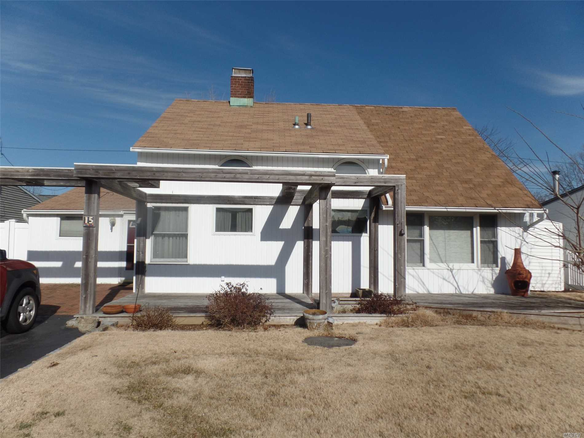 Rear Extended Expanded Ranch In The Desirable D Section Boasts An Eik, Formal Dining Room, Living Room, Huge Master Bedroom On First Floor. 3 Additional Bedrooms And 2 Full Baths Sitting On A Well Manicured Property. Taxes With Star Under $10, 000. Above Ground Oil Tank