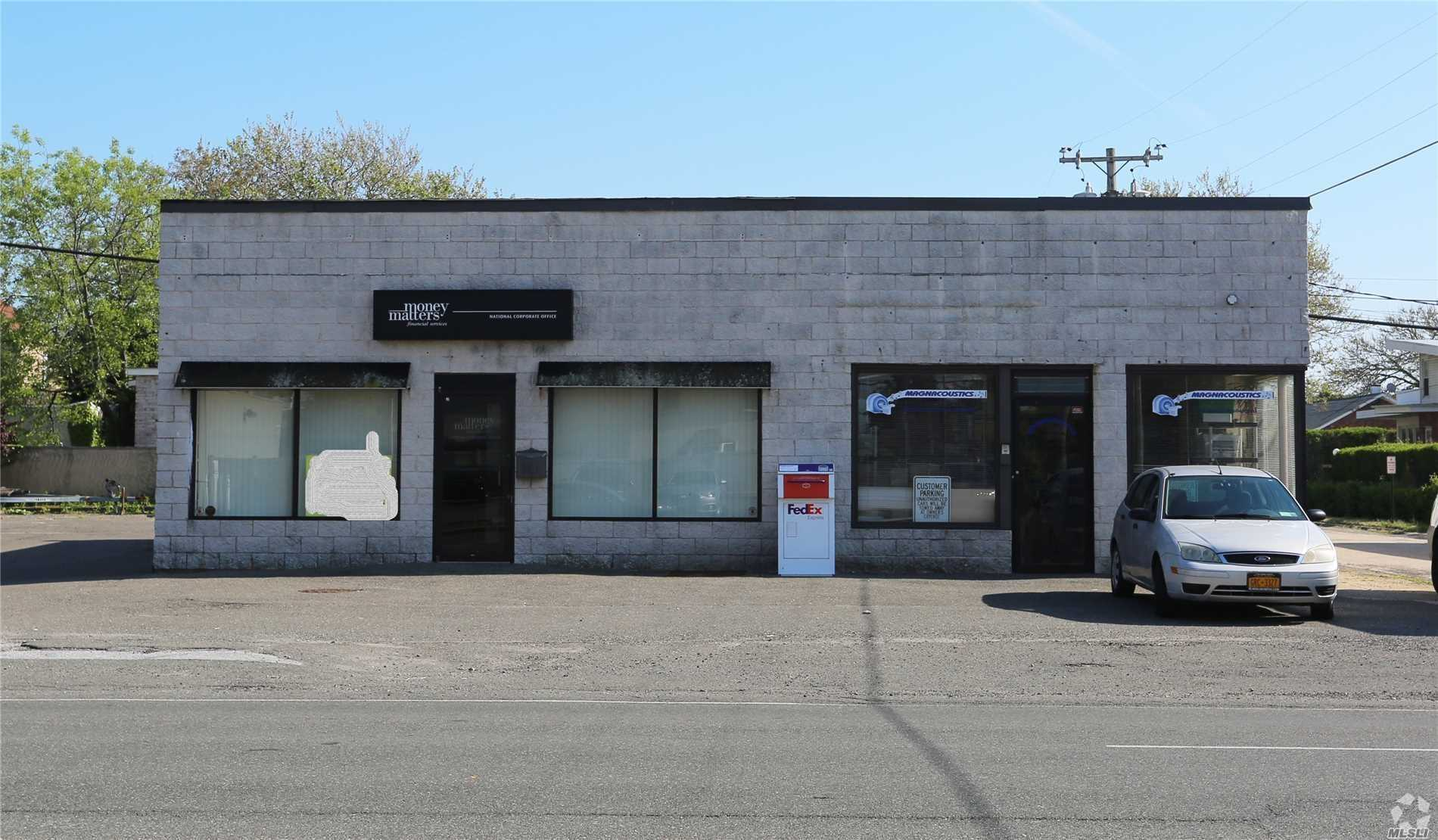 Store Front Great Location Right Off The Atlantic Beach Bridge . Great For Office Or Retail Business . 11 Parking Spaces . Owner Pays All Real Estate Taxes.