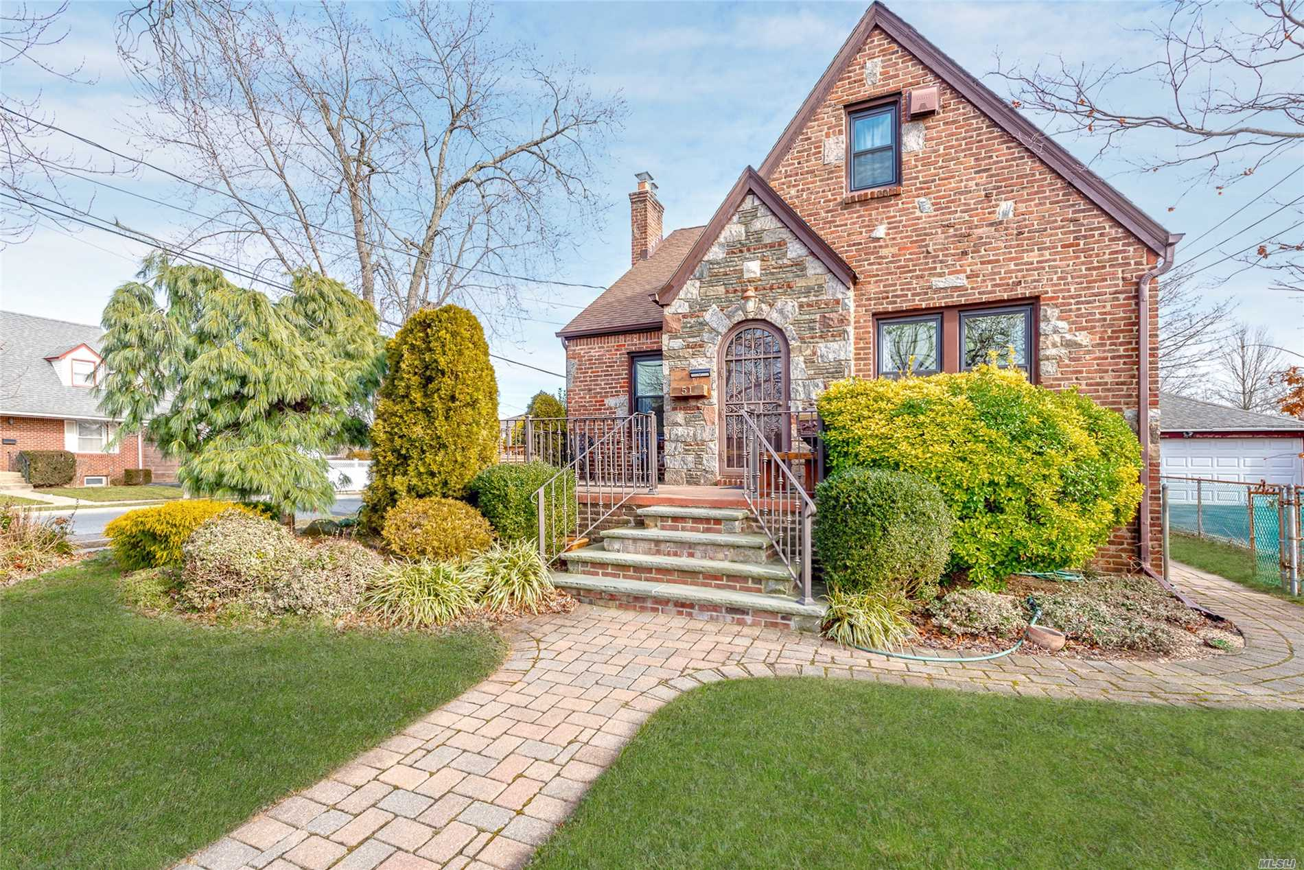 Updated Classic 5/6Br Brick Tudor W/Its Own Distinctive Style & Character! 51 Central Blvd - For G P S Is 2371 Central Blvd--Offers A 2-Car Garage/Rafter Storage, Granite Eik, Jacuzzi, Pvc Fence, Updated Roof, Pavers, Entry Steps, Crown Moldings, Inlay Hardwood Floors, Stone Fireplace, Finished Basement & Hihats! Gas Heat/Gas Stove, 200 Amps, Security To Station, Some Marvin Windows, Ductless Cac. Professionally Landscaped Yard.