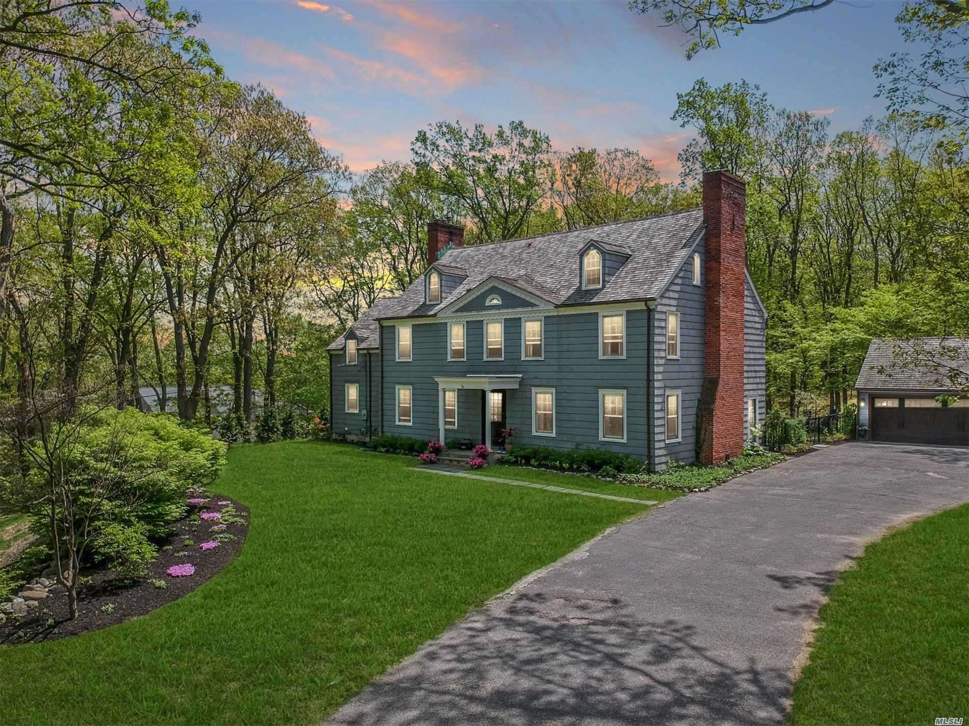 Historic Charm Abounds In This Meticulous And Timeless Restoration Of A Traditional Colonial Classic. Formerly Part Of The Stehli Estate, This Home Was Moved To Its Current Locale In The 1960'S With A New Foundation. Everything Renovated In The Last 5 Years, Kitchen Reno In 2017. Plenty Of Space, Traditional Layout, A/G Oil Tank, Fully Fenced. Tax Grievance Filed In 2018.