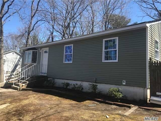 Renovated 3 Bedrooms, 2 Baths Ranch With A Full Finished Basement. Don't Miss This Golden Opportunity.