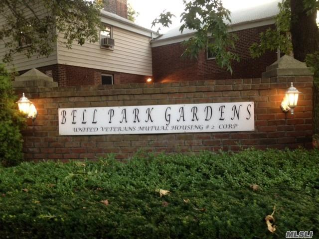 Garden Corner Lower 2 Bedrooms Coop Unit On 1st Floor , Expose To N&E . School District #26-Ps46/Ms74, .Bus Q27To Flushing, Qm5/8/35 To Nyc. Close To Shopping Center & Alley Pond Park.Low Maintenance Fee Includes Heat, Tax, Gas, Security.Exclude Electric .10% Flip Tax Pay By Seller .Cats Ok , Owner Occupied Only .Income Check Needs. Qualified Buyer Allow As Low As 10% Down-Payment.
