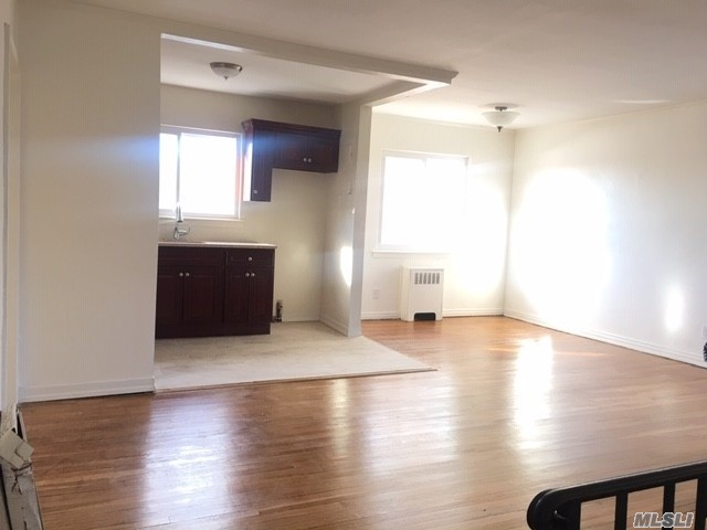 Beautiful Renovated 2 Br Garden Apartment, Hard Wood Floor, Open Kitchen, Window In Every Room, Convenient Location , Easy Access To Highway, Quiet Residential Area .