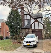Bring Your Decorating Ideas To This Tudor Colonial In Jamaica Estates! This Spacious Home Is A Clean Slate - Ready For Your Touch To Make It Your Dream Home! Set On A Deep Property, This Brick & Stucco Classic-Style Home Offers Endless Possibilities For Today's Lifestyles.