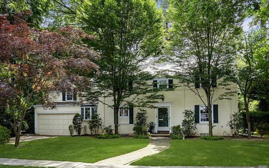 Gracious & Grand Old Canterbury Gem Perfectly Poised On A Lush 1/4 Acre. Located On A Beautiful & Serene Exclusive Dead End St Where Beauty Abounds. This Stately Classic Brick Colonial Boasts 5 Bedrms/4 Full Baths, Lrw/Fp, Great Rmw/Fp, Office/bedroom & Full Bath Complete The 1st Floor. Upstairs Has 2 Master En Suites, 2 Bedrooms, & Family Bath. Ideal For a Large Family & Great For Entertaining.