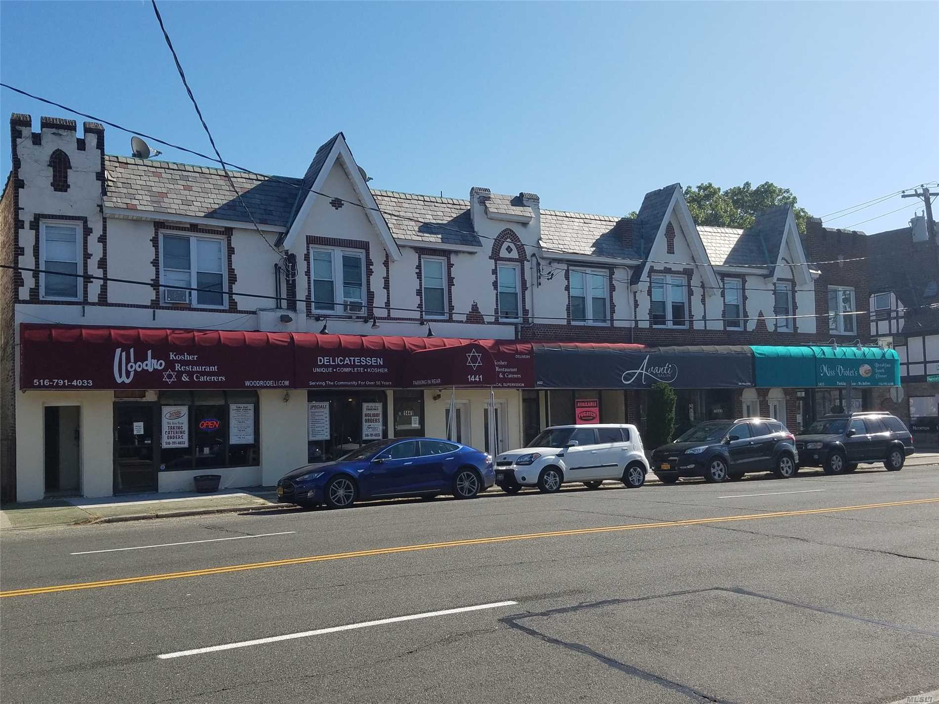 Beautiful 1920'S Tudo Style Building Heat, Hot Water & Cooking Gas Incl. Tuscany Style Kitchens W/Dishwasher & Microwave. Granite Bath W/Frameless Shower Doors. Central Air-Conditioned. City Style, Close To Lirr, Great Walk Score Near All.