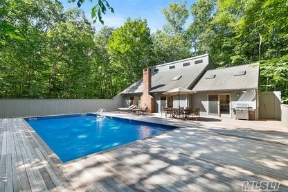 Located In Stoney Hill Area Of Amagansett This Well Maintained 4 Bedroom 2 Bath Contemporary Salt Box Offers Unlimited Possibilities. Open Floor Plan Surrounded By Lush Beech Tree Forest And Landscaping. Vaulted Ceilings With Fireplace, 2 Generous Bedrooms And Full Bath On The First Floor . Second Floor Enjoy 2 Additional Bedrooms And Bath