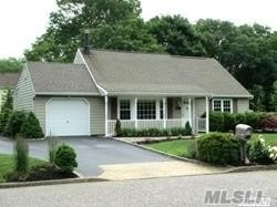 Welcome Home! This Well Maintained 3 Br Cape Has Many Features That Include A Large Stone Fireplace In The Lr, Formal Dr W/Custom Built-In, Large Eik W/Sliders That Lead To A 16 X 42 Paver Patio, Custom Moldings, Hardwood & Ceramic Floors, Cac, Recessed Lightnings, Full Fenced Yard & A 1 Car Garage All On A Flat Manicured 1/3 Acre. What Are You Waiting For, Come See For Yourself!