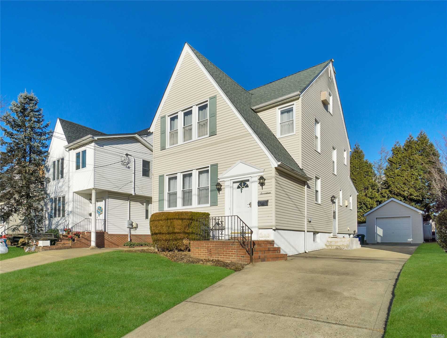 Beautiful Old Style Colonial House With Original Hardwood Floors Preserved Under Carpeting For Over 30 Years. Oversized Rooms With Plenty Of Storage Space And Full Finished Attic Including Eve Storage, Full Finished Basement, Siding Roof And Plumbing Ten Years Young. Gas In House For Stove Hook Up.