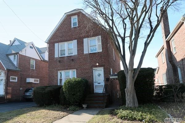 Mid-Block All Brick Legal 2 Family House In Herricks School District. Close To Transportation And Shopping. New Boiler, Updated Windows