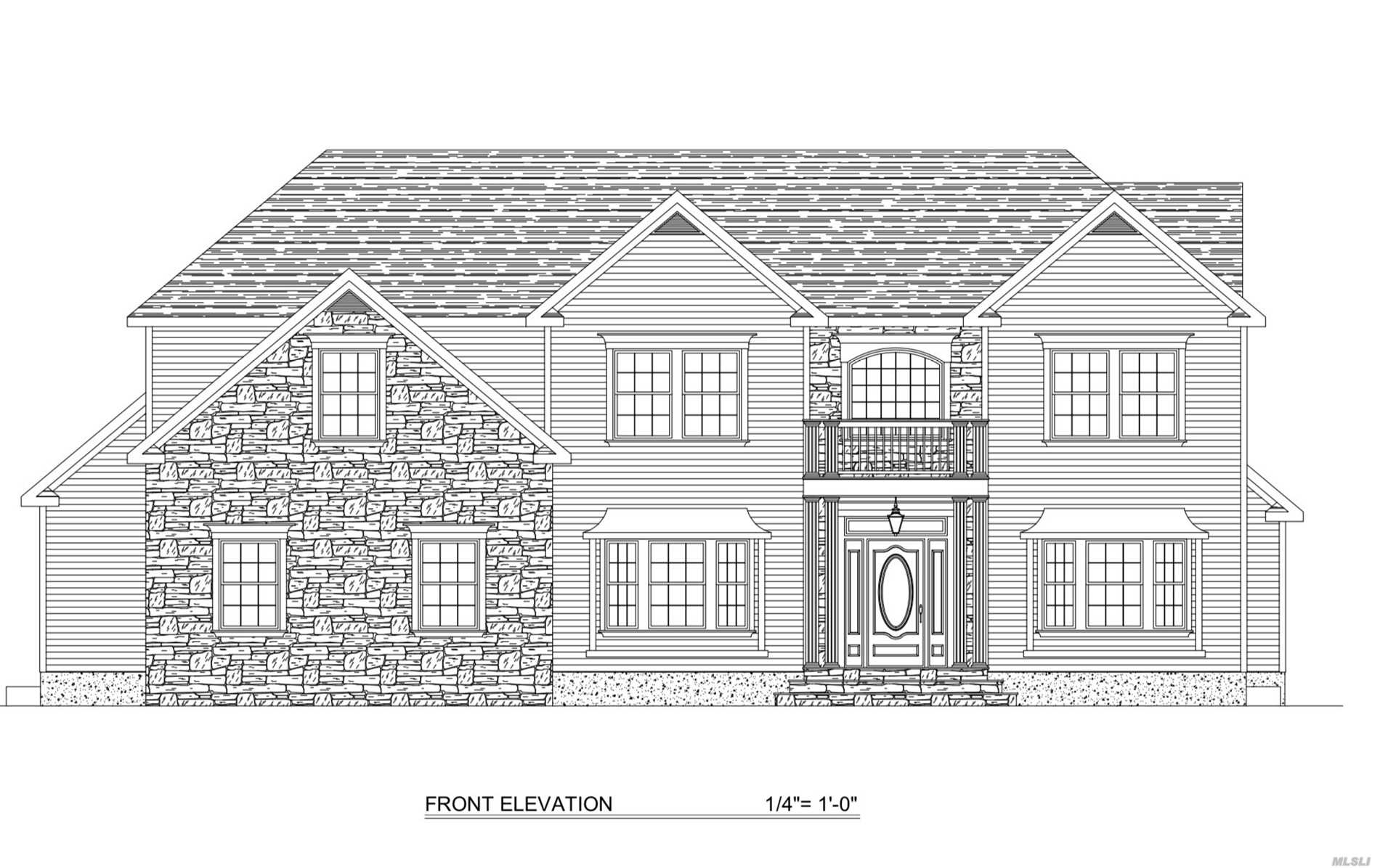 Will Be Ready Spring 2019. Make This Your Own/Customize With Your Desired Wish List! Approximately 3350 Sqft - With A Huge 10K Sqft Lot. Absolutely Stunning Colonial, Great Location. Custom Cabinetry And Granite Baths And Kitchen. This Home Features A Grand Open Foyer & Open Concept Layout. Big Living Room, Dining W/Fireplace, High Ceilings, Total 5 Big Bedrooms 4 Bathroom. Huge Master Suite. 1, 5 Car Garage.Kitchen With Granite Counters And A Big Island. Basement With A Separate Outside Entrance