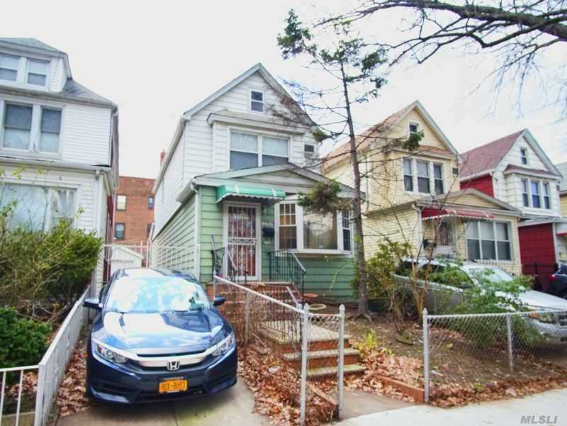 Very Nice Detached 1-Family Colonial With Fully Finished Basement, Garage+Driveway. 3 Blocks To Rego Park M/R Subway Station, Q38/60/72 Buses. Near 63rd Drive, Junction Blvd & Queens Blvd For: Supermarkets, Restaurants, Coffee Houses, Bakeries, Banks, Pharmacys, Library, Warehouse Club, Dept. Stores, Shoppping Malls Andmuch More. Schools: P.S. 139, Forest Hill H.S.