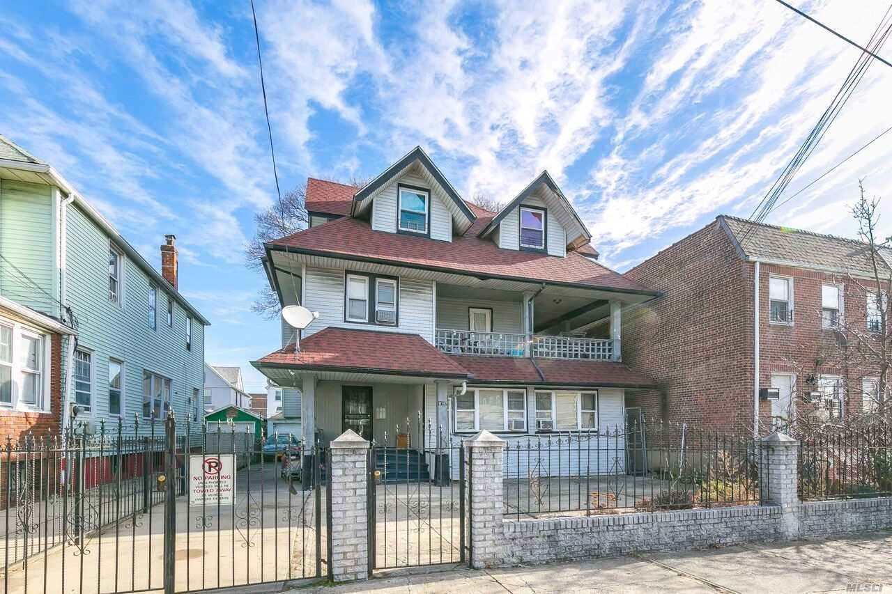 *Attention Home Renovators! Opportunity Knocks To Revamp This Detached Three Family Dream Home, 2, 573 Sq. Ft., 5 Brs, 3 Baths, On A Maximum Allowable/Usable Floor Area Of 3, 739 Sq. Ft. One/Two Blocks To The Q7, Q37, & Q41 Bus; Six/Seven Blocks To The A Train, Close Proximity To The Aqueduct Racetrack, Resort World Casino, And Shopping. Being Sold As Is. Gas Available In The House.