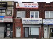 Prime Location Where Long Island Meets Queens Approximately 1560 Square Feet Store Front/ Retail Space/ Office Space With Approximately 1200 Square Feet Basement