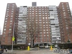 Sale May Be Subject To Term & Conditions Of An Offering Plan.Very Well Maintained High-Rise Building In Very Safe Neighborhood. Financially Sound Building. Large 3 Bedrooms, 2 Full Baths. Prime Location Close Subway, Lirr, Schools, & Shopping. Onsite Full Service Laundry & Bicycle Room. Covered & Outdoor Parking.