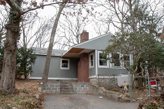 Older Home On Large Lot With Tons Of Potential. Great Starter Home But It Needs Tlc. Rustic Property, Rocky Point Sd. Don't Miss This Opportunity To Own A Fixer - Upper On A Beautiful Lot.