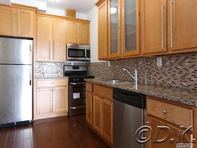 Huge Diamond Condition Oceanview Apartment In Luxury Rental Bldg On The Ocean! Completely Renovated W/Hardwood Floors, Granite & Stainless Kitchen, New Bathroom W/ Jacuzzi Tub, Private Terrace & Your Own Washer & Dryer In Your Apt! Comes W/ All Appliances! Pet Friendly Bldg Has 24 Hour Doorman & Security. Rent Includes Heat, Water & Cooking Gas! Also Included Is Access To The 24 Hour State Of The Art Gym W/ Saunas, Private Beach Club, Game Room, Bike Storage Room & Package Acceptance Service